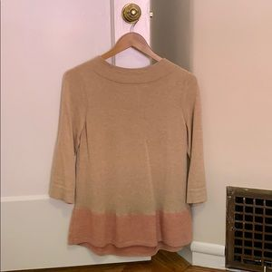 Mock-neck Anthropologie swing sweater